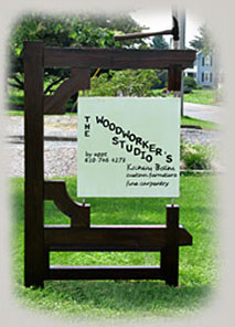 The Woodworker's Studio's Signage